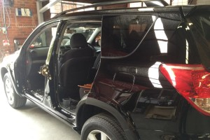 Toyota RAV4 doors removed 2