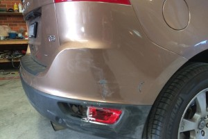 Volvo XC60 Rear Bumper Side View