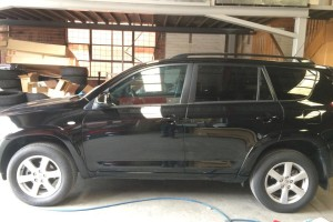 Toyota RAV4 side view completed