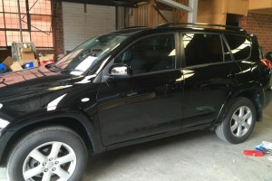 Toyota RAV4 side view completed 2