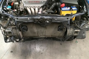 Honda accord front bumper replacement