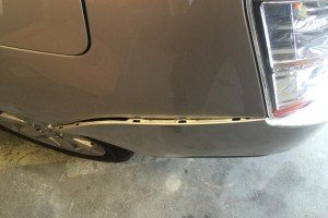 Toyota Prius Bumper Side View 2