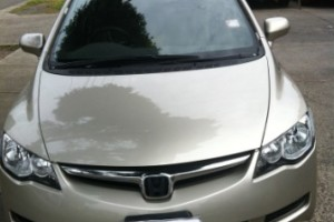 Honda Civic After Repairs