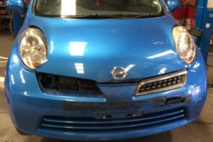 Nissan Micra front view 2