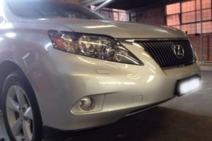 lexus rx350 front bumper