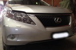 lexus rx350 bumper side view