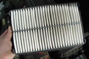 old air filter
