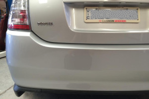 Toyota Prius After Scratch Repair