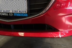 Mazda 3 Neo Bumper Scratches