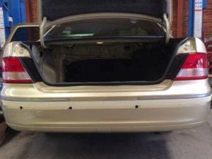 Toyota Avalon Reverse Sensor Before Installation 1