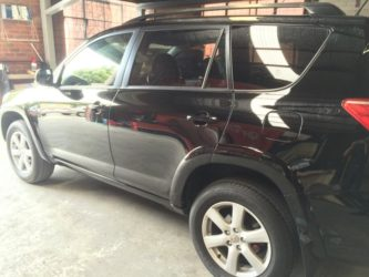 Toyota RAV4 after spray paint 1