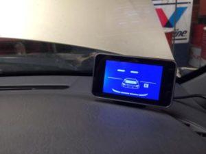 Toyota Avalon Reverse Sensor Monitor 1