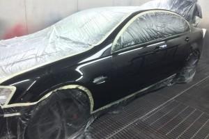 Holden VE SS in spraybooth 3