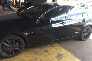 Holden VE SS Side view finished