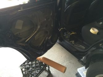 Removing parts from Toyota RAV4 2