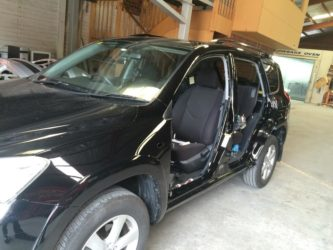 Toyota RAV4 doors removed