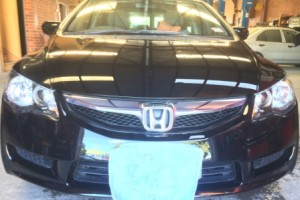 Honda Civic Front View