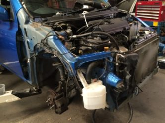 Nissan Micra removed parts 2