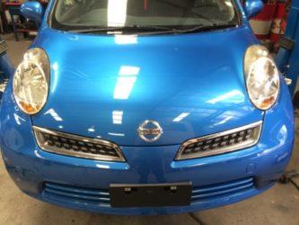 Nissan Micra Installed Bonnet 2