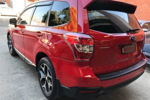 Red Subaru Forester 9