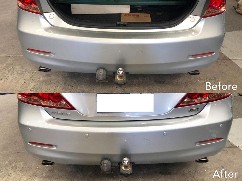 Toyota Reverse Parking Sensor Installation